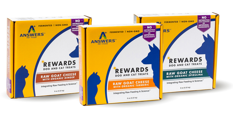 Answers Pet Food, Treats